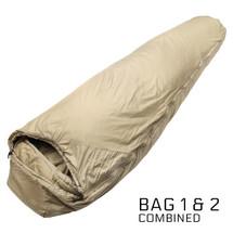 Snugpak Versatile Tactical System (V.T.S.) Modular Military Sleep System Desert Tan