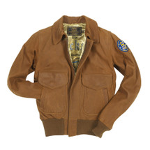 Cockpit USA Women's Raider Jacket Brown USA Made