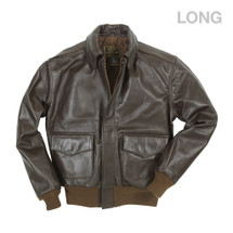 Cockpit USA WWII Government Issue A-2 Jacket (Long)