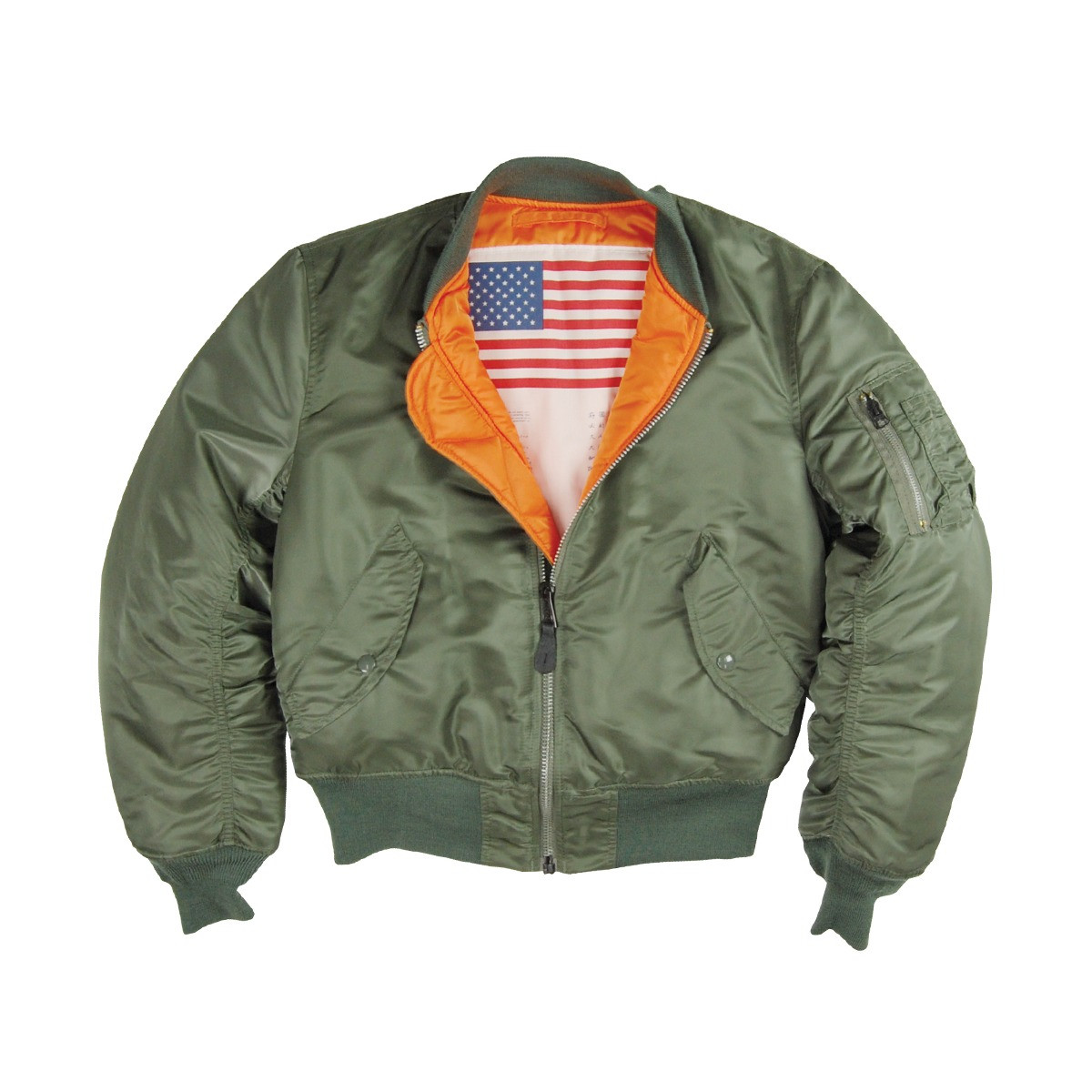 competitive price 6904c 31d63 Alpha Industries MA-1 Blood Chit Jacke