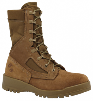 Belleville USMC Waterproof Combat Boot (EGA) Coyote Brown USA Made