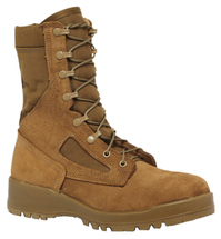 Belleville Hot Weather Steel Toe Combat Boot Coyote Brown USA Made