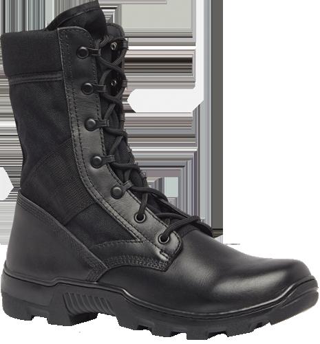 Belleville Tactical Research Khyber Leichter wasserdichter, seitlicher Reißverschluss Taktischer Stiefel in Schwarz