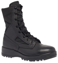 Belleville 300 TROP ST Hot Weather Steel Toe Boot Black USA Made