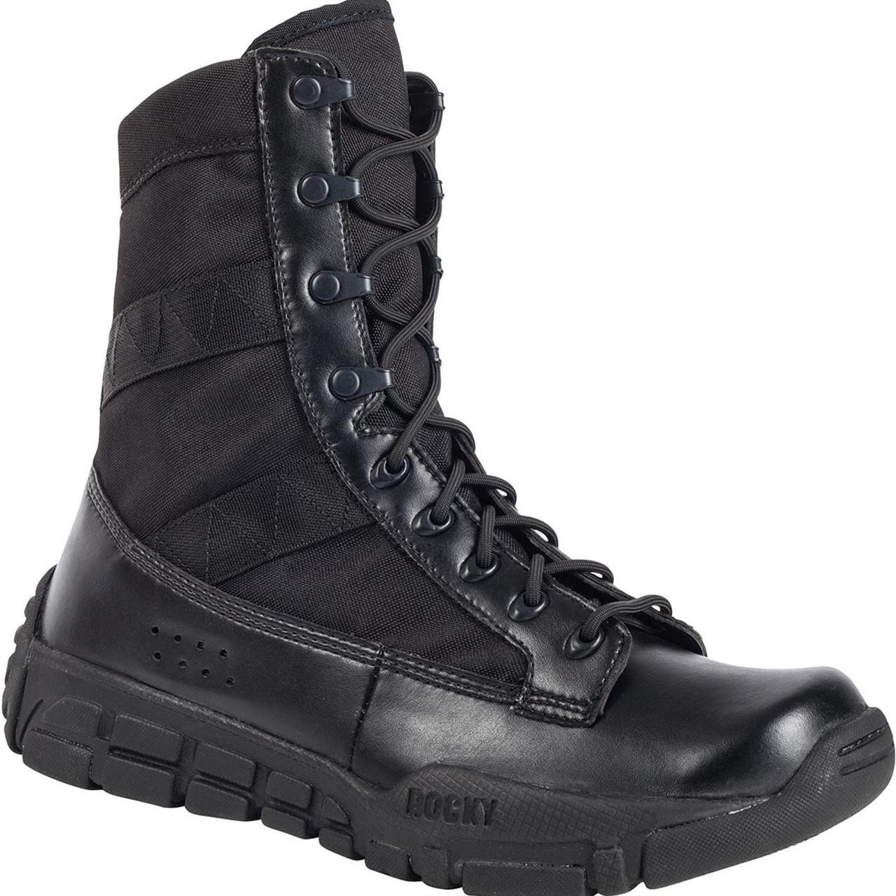 ROCKY C4T TRAINER MILITARY DUTY BOOTS BLACK - EMPIRE TACTICAL Store eeb97af6f