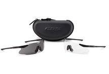 ESS ICE-2X Retail Kit Black Frames Clear and Smoke Lenses