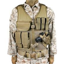 Blackhawk Omega Elite Vest Cross Draw Pistol / Mag