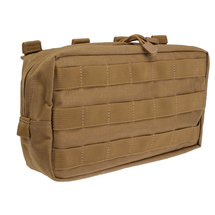 5.11 Tactical 10. 6 Horizontal Molle Pouch Flat Dark Earth, (FDE) Coyote