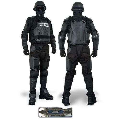 XX-Large Damascus Protective Gear CRT50-XXXL Damascus CRT50 Vector Hard-knuckle Riot Control Gloves