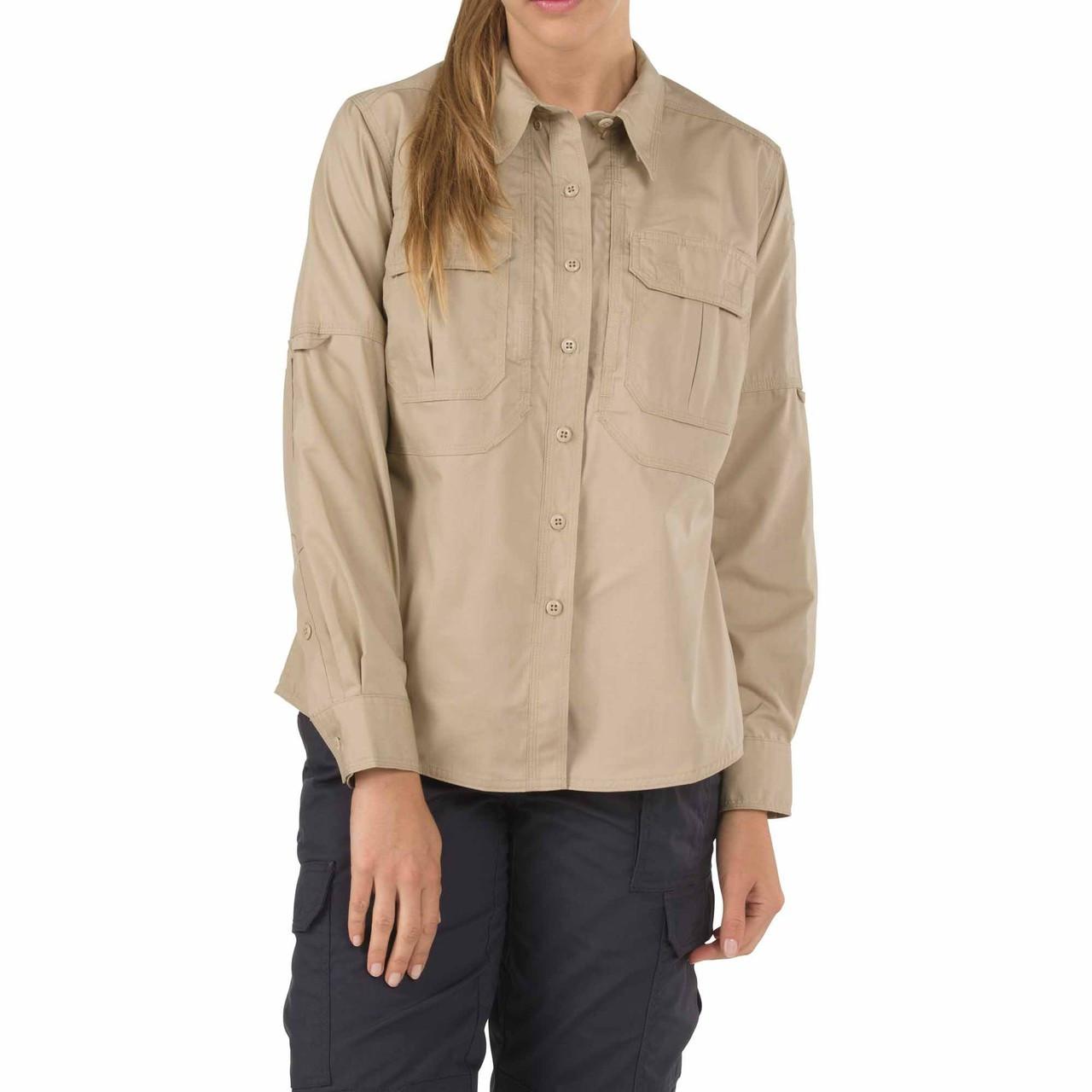 d239535e896c1 ... 5.11 Tactical Women s Taclite Pro Long Sleeve Shirt. TDU Khaki