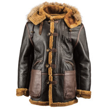 Alpha Industries B-7 Vintage Sheepskin Parka WW II Style