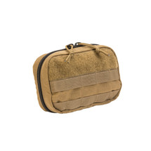 Tac Shield Molle Operators Admin Pouch Coyote Brown, USA Made