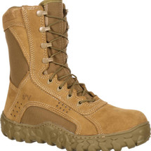 Rocky S2V Steel Toe Military Boot Coyote Brown USA Made