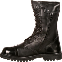 Rocky Waterproof Insulated Zipper Military Jump Boots Black