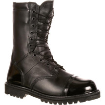 Rocky Men's Zipper Jump Boot Black Military Duty