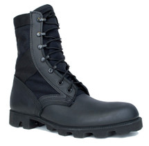 McRae Hot Weather All Black Jungle Boot with Panama Outsole 8 Inch USA Made
