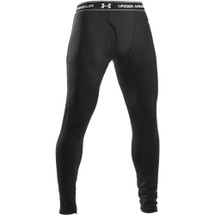 UNDER ARMOUR COLD GEAR BASE 3.0 BOTTOMS BLACK