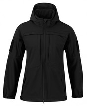 Propper BA Softshell Duty Jacket With Removable Hood Black