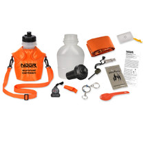Survival Canteen Kit w/Advanced Filter Orange