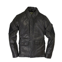 Cockpit USA Sniper Leather Jacket Black USA Made