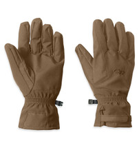 Outdoor Research Poseidon Gloves Coyote Brown Gore-tex USA Made