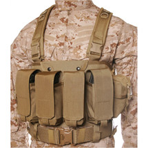 Blackhawk Commando Chest Harness CoyoteTan