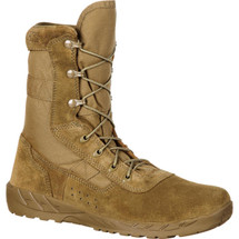 Rocky C7 CXT Lightweight Commercial Military Boot Coyote Brown