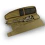 "Eberlestock Sniper Sled Drag Bag 52"" Shown in Coyote Brown open"