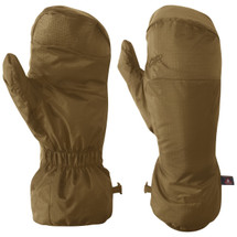 Outdoor Research MGS Insulated Mitten Liners Coyote Brown USA Made, Special Forces Modular Glove System