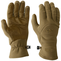 Outdoor Research MGS Gen3 Fleece Gloves Coyote Brown USA Made, Special Forces Modular Glove System