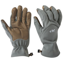 Outdoor Research MGS Soft Shell Gloves Super Fabric Mas Grey USA Made
