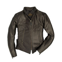 Cockpit USA Cafe Racer Motocross Jacket Black USA Made