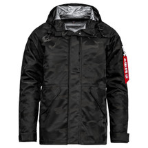 Alpha Industries ECWCS Torrent Jacket With Hood Black Camo