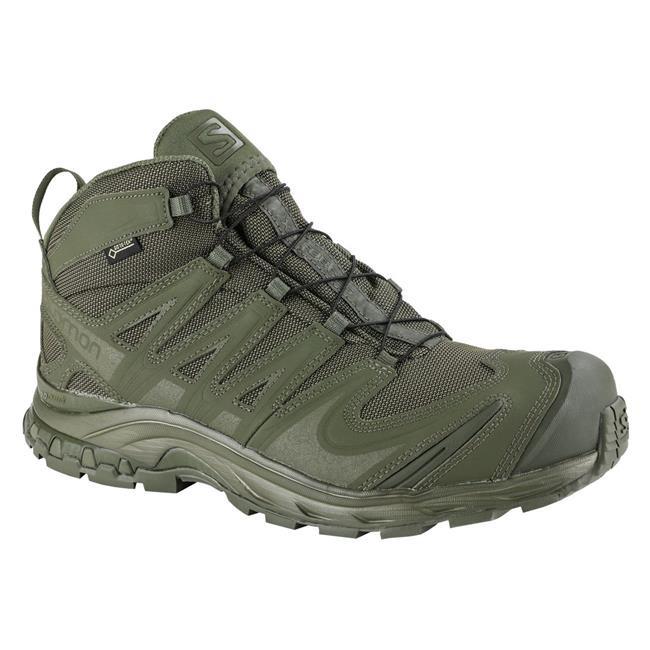 Salomon XA Forces Mid GTX Tactical Boot Ranger Green Gore Tex Special Forces