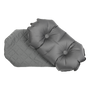 Klymit Luxe Pillow Grey out of case