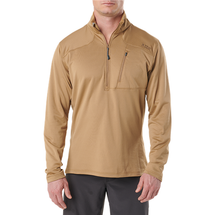 5.11 Tactical Recon Half Zip Fleece Tactical Shirt Coyote