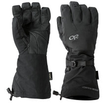 Outdoor Research Alti Gloves Gore-tex with Removable Liners Black