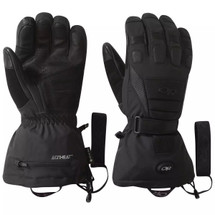 Outdoor Research Capstone Heated Gloves Black Updated Version