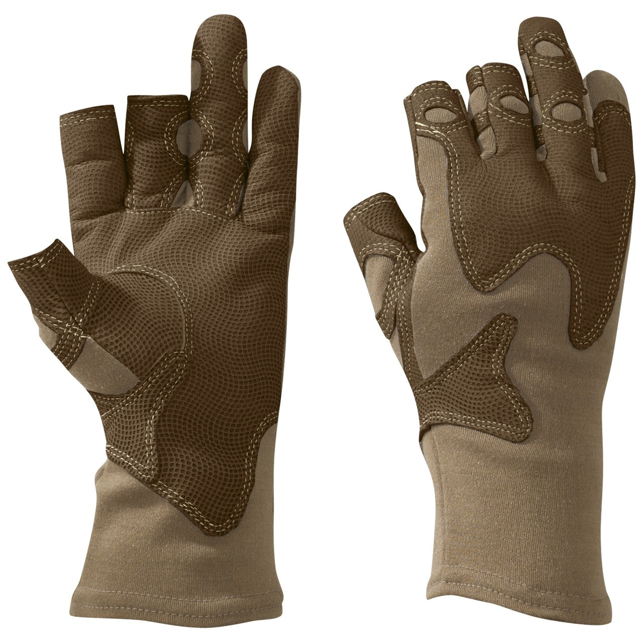 Outdoor Research Overlord Gloves Coyote Brown USA Made