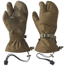 Outdoor Research MGS Modular Glove System TF Mitts Gore-tex Coyote Brown USA Made