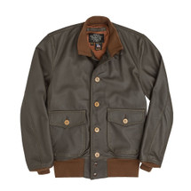Cockpit USA A-1 Leather Flight Jacket Brown USA Made