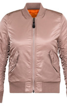 Alpha Industries Women's MA-1 Flight Jacket Mauve