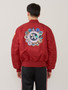 Alpha Industries Apollo Ma-1 Flight Jacket Commander Red