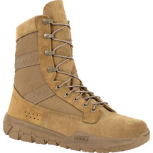 Rocky C4R Athletic Military Boot Coyote Brown USA Made