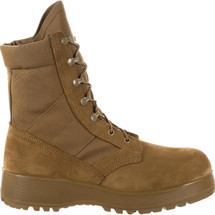 Rocky Entry Level Hot Weather Military Boot Coyote Brown USA Made