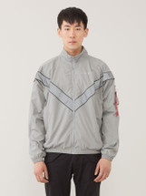Alpha Industries PT Track Jacket New Silver
