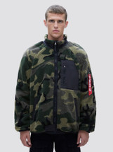 Alpha Industries Ridge Utility Jacket Woodland Camo