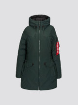 Alpha Industries N-3B Down Parka Women's Patrol Green