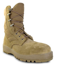 McRae Mil-Spec Hot Weather Steel-toe Boot in Coyote USA Made