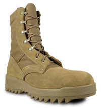 McRae Hot Weather Ripple Sole Combat Boot Coyote Brown USA Made
